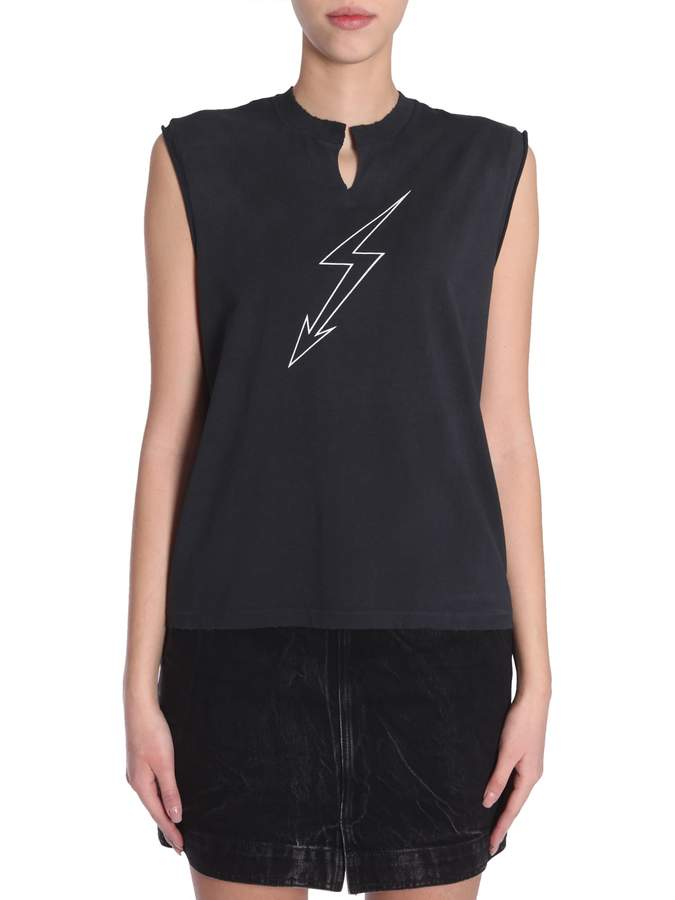 Givenchy Sleeveless T-shirt