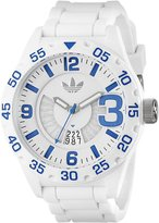 adidas Men's ADH3012 Newburgh Stainless Steel Watch with Silicone Band