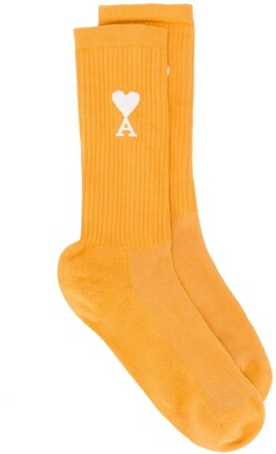 Ami de Coeur ribbed socks