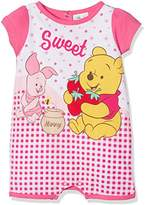 Winnie The Pooh Baby Girls' Sweet Romper,(Manufacturer Size: 6 Months)