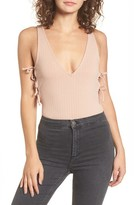 Privacy Please Women's Mission Thong Bodysuit