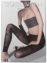 Armani Leggings Femme De Couleur Noir