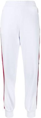 MSGM logo stripe track trousers