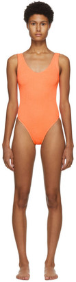 BOUND by Bond-Eye Orange The Mara One-Piece Swimsuit