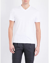 Brunello Cucinelli V-neck Cotton-jersey T-shirt