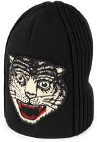 Gucci Wool hat with embroidered tiger head