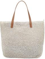 Seafolly Carried Away Beach Tote Bag, White