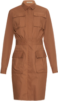 Bottega Veneta Patch-pocket stretch-cotton shirtdress