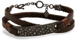Armenta Old World Wrap Bar Bracelet