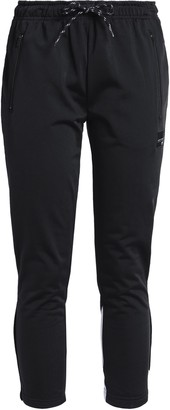 adidas Cropped Printed Jersey Track Pants