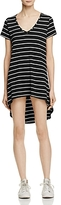 Aqua Striped Shirt Dress - 100% Exclusive