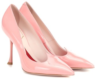 Roger Vivier I Love Vivier patent leather pumps