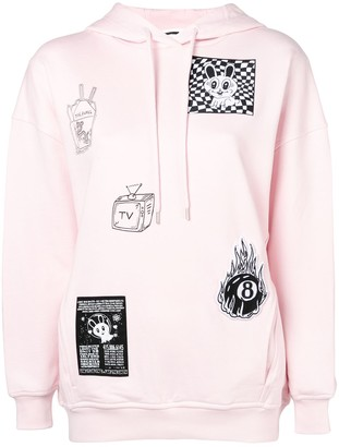 McQ Patch Detail Sweatshirt
