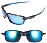Oakley Women's Carbon Shift 62Mm Sunglasses - Matte Black/ Sapphire Iridium