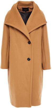 Maje Double-breasted Wool-blend Felt Coat
