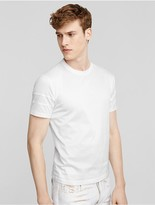 Calvin Klein Collection Mercerized Cotton Crew Neck