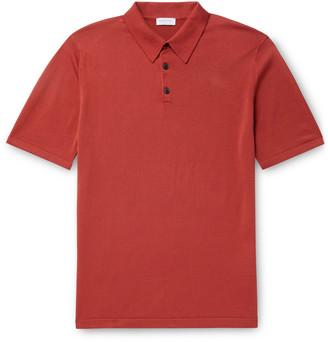 Sunspel Slim-Fit Sea Island Cotton Polo Shirt