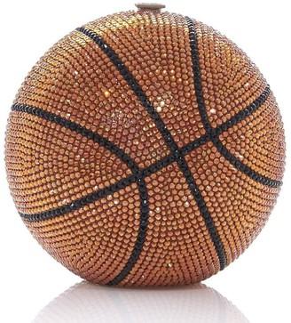 Judith Leiber Basketball Ball sphere-shaped clutch