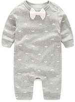 Janeyer® Janeyer Infant Newborn Baby Cotton Rompers Jumpsuit Outfits Bodysuit Pajamas
