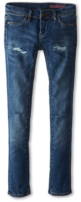 Blank NYC Kids Distressed Denim Skinny Jeans in No Time For Dat (Big Kids) (No Time For Dat) Girl's Jeans