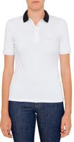 Armani Jeans Aj Polo Tee W Contrast Collar
