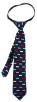Cufflinks Inc. Boy's Cufflinks, Inc. 'Batman' Zipper Silk Tie