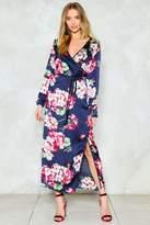Nasty Gal Quit It Floral Dress