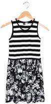 Molo Girls' Contrast Sleeveless Dress