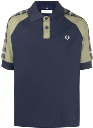 Fred Perry Tartan Panel Polo Shirt