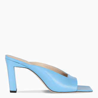 Wandler Light blue Isa sandals
