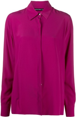 DEPARTMENT 5 Long-Sleeve Silk Shirt