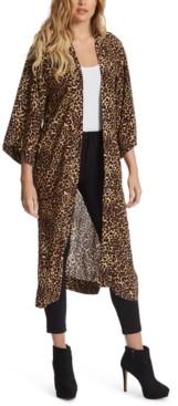 Jessica Simpson Waverly Printed Open-Front Kimono