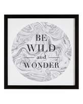 Graham & Brown Be Wild and Wonder Framed Marble Print