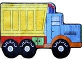 Fun Rugs Fun Shape High Pile Dump Truck Area Rug Rug