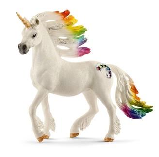Schleich Hand-Painted Figure unicorn stallion Rainbow
