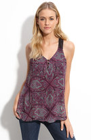 Ella Moss 'Jewel Box' Printed Silk Tank