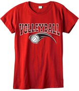 Sports Katz Womens 'Zebra' VOLLEYBALL Fashion T-Shirt
