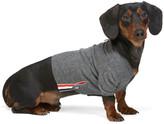 Thom Browne Grey Cashmere 4-Bar Dog Cardigan