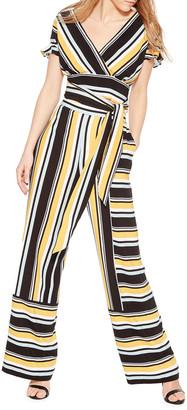 Parker Wrenn Striped Wide-Leg Pants