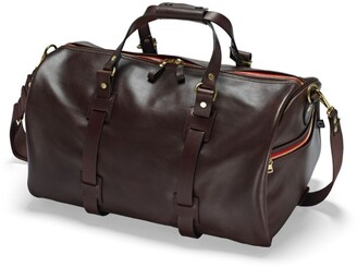 Croots Vintage Leather Duffle Bag