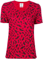 Zoe Karssen printed V-neck T-shirt