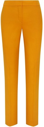 Oscar de la Renta Straight Tailored Trousers