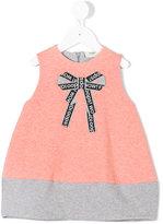 Fendi bow print dress - kids - coton/Spandex/Elasthanne - 18 mois