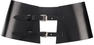 Ann Demeulemeester Double-Buckle Waist Belt