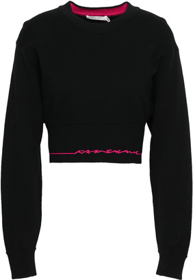 Rag & Bone Intarsia Cotton-blend Sweater