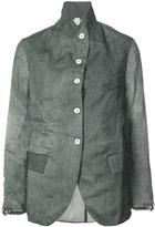 A Diciannoveventitre curved hem jacket