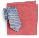 Original Penguin Tie & Pocket Square Gift Set