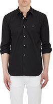 Comme des Garcons Men's Heart Patch Shirt-BLACK