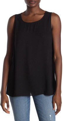 Rachel Roy Raeni Draped Sharkbite Tank Top