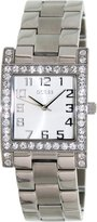 GUESS GUESS? Women's U0128L1 Stainless-Steel Quartz Watch with White Dial